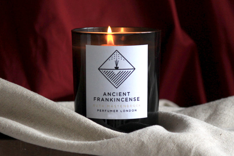 Ruth Mastenbroek Ancient Frankincense Scented Candle